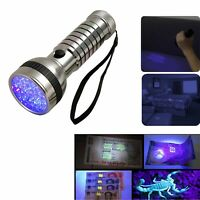 Latest 41 Led Uv 2-Mode Ultra Violet Flashlight Torch Light Light Weight Led ...