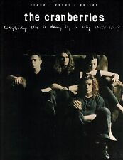 The Cranberries Everybody Else Is Doing It Piano, Vocal, Guitar Song Book P/V/G