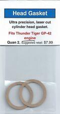 Thunder Tiger GP-42 Cylinder Head Gasket 2 Pack NIP