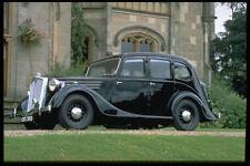 354087 Wolseley 18 85 SERIE 111 BERLINA 1948 A4 FOTO STAMPA