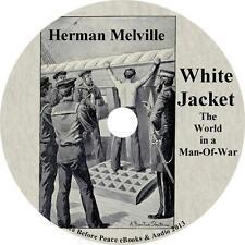 White Jacket, Herman Melville Audiobook Unabridged Fiction English 1 MP3 CD