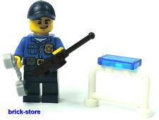 LEGO ®    City / Polizei Figur (Nr.2)  Polizei  mit Funkgerät und Handschellen
