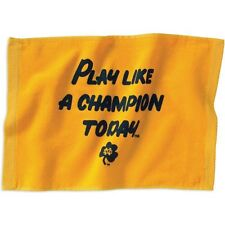 NOTRE DAME FIGHTING IRISH PLAY LIKE A CHAMPION TOWEL SPIRIT TOWEL