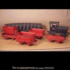 Rare!! Original 1929 Buddy L 5 pc Industrial Train Set w/ 12pcs Original Track