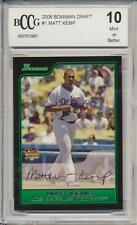 2006 Bowman Draft Matt Kemp RC Rookie BGS/BCCG 10 Atlanta Braves
