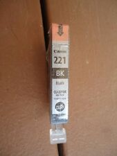 Canon CLI 221 BK Black Ink Tank No Box