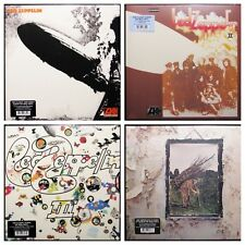Led Zeppelin Lot of 4: I II III IV [Latest Pressings] LP Vinyl Record Albums