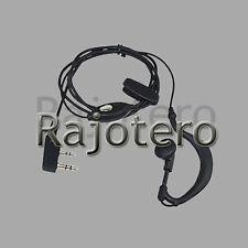 2 Pin PTT Auricular Microfono para Emisora Walkie Baofeng Pofung UV-5R UV5-RA