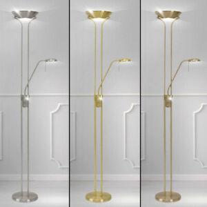 Decken Fluter Steh Lampe Dreh Dimmer Wohn Zimmer Beleuchtung Lese Spot flexibel