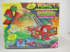 "TURTLES Road Ready Mutations ""ROAD READY LEO"" Two Totally Turtle Toys In One!"