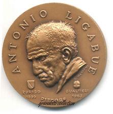 ANTONIO LIGABUE PITTORE GUALTIERI 1999 MEDAGLIA G. MERIGHI