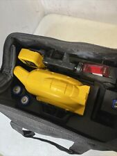 Dewalt 150ft Red Self Leveling Rotary Laser With Detector Clamp And Wall Mount