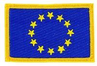 Patch écusson brodé Drapeau EUROPE UNION EUROPEENNE UE CEE Thermocollant