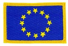 Patch écusson brodé Drapeau EUROPE UNION EUROPEENNE UE CEE Thermocollant Insigne