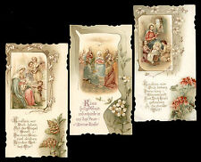 lotto santini-holy cards lot-lot images pieuses-konvolut heiligenbildichen 1933