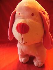 """NEXT PINK  DOG 13"""" TALL X 13"""" LONG APPROX SOFT TOY"""