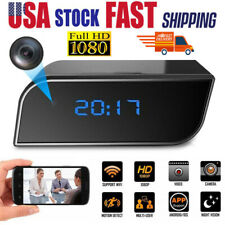 Spy Camera WiFi Hidden Wireless Night Vision Security Nanny Cam HD 1080P Alarm
