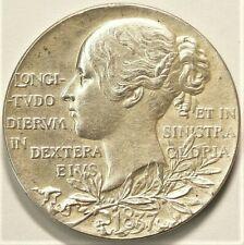 1897 Queen Victoria Diamond Jubilee Silver Medal #10395
