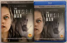THE INVISIBLE MAN BLU RAY DVD 2 DISC SET + SLIPCOVER SLEEVE FREE WORLD SHIPPING