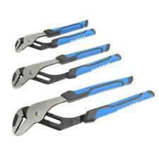 Kobalt Groove Joint Plier Set 3 Pack 8 In 10 In 12 In Channel Lock Pliers