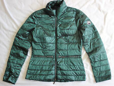Beaumont Women's Emerald Green Down Coat Jacket Size 36 UK 8 Good Used Condition