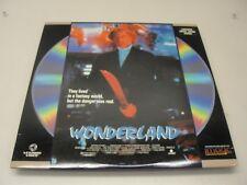 1989 WONDERLAND LASERDISC HORROR RATED R *** NOT DVD ***