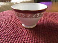 Vintage Royal Stafford Open/Footed Sugar Bowl Gold Trimmed