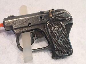 "Vintage Kilgore ""PAL"" toy cap gun cast iron revolver P12 snub nose"