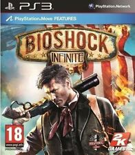 BIOSHOCK INFINITE PS3 Game MOVE Optional (BRAND NEW SEALED)