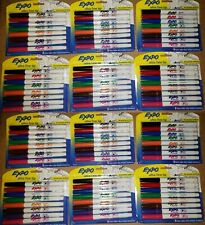 Bulk Lot Of 96 Expo Dry Erase Markers Ultra Fine Tip 12 Packs Of 8 Count