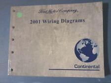 2001 Continental  Wiring Diagram Manual
