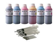 6x250ml refill ink for Epson cartridge 98/99 Artisan 800 810 835 837