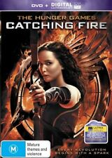 The Hunger Games - Catching Fire (DVD, 2014) Brand New FREE POSTAGE Region 4