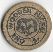 Micrografx Chile For Children A Recipe For Hope 5 ¢ Wooden Nickel