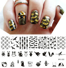 Animal Theme Nail Art Stamp Template Dog Puppy Image Plate BORN PRETTY