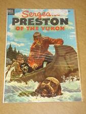 SERGEANT PRESTON OF THE YUKON #11 VF+ (8.5) DELL COMICS JULY 1954