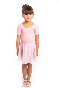 Girls PINK WRAP SKIRT Pull On. proVora RAD Ballet Toddler/ Child 2,3,4,5,6,7 NEW