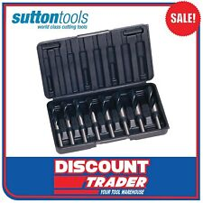 Sutton Tools D188 REDUCED Shank 12.5mm Metal Drill Bit Set Metric - D188sm8r