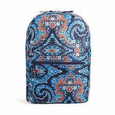 VERA BRADLEY BACKPACK IN A POUCH MARRAKESH BLUE SOLD OUT HARD TO FIND FAST SHIP