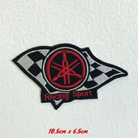 Racing Sport Yamaha Motorsports badge Iron Sew on Embroidered Patch #1538