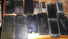 Smartphone / Cellphone Lot of 13 (Most Working)