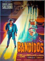 Plakat Kino Western 1967 Bandidos - 120 X 160 CM Les Filme Marbeuf