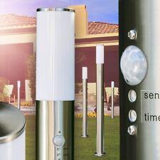Segnapasso da Giardino Nuovo Luce Esterno Acciaio Inox IP44 Sensore di Movimento