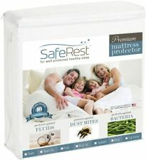 SafeRest Full Size Premium Hypoallergenic Waterproof Mattress Protector - Vinyl