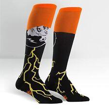 Sock It To Me Women's Funky Knee High Socks - Frankenstein's Sockster