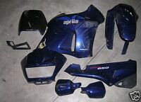 KIT carene ORIGINALE Aprilia Pegaso 650 dal 1992 al 1996 colore BLU usate