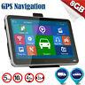 "2016 Hot 5"" inch GPS SAT NAV Car Navigation System Newest 8GB AU EU Free Maps OU"