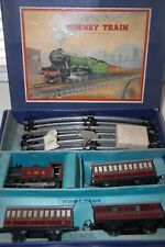 HORNBY O GAUGE  No 101 PASSENGER  TRAIN SET IN  LMS RED LIVERY