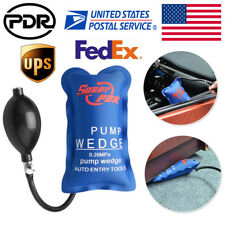 2pc PDR Automotive Pump Wedge Auto Hand Tools Air Powerful Inflatable Shim Kits