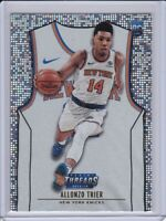 2018-19 Panini Threads Rookie Card RC Dazzle Parallel 108 Allonzo Trier Knicks